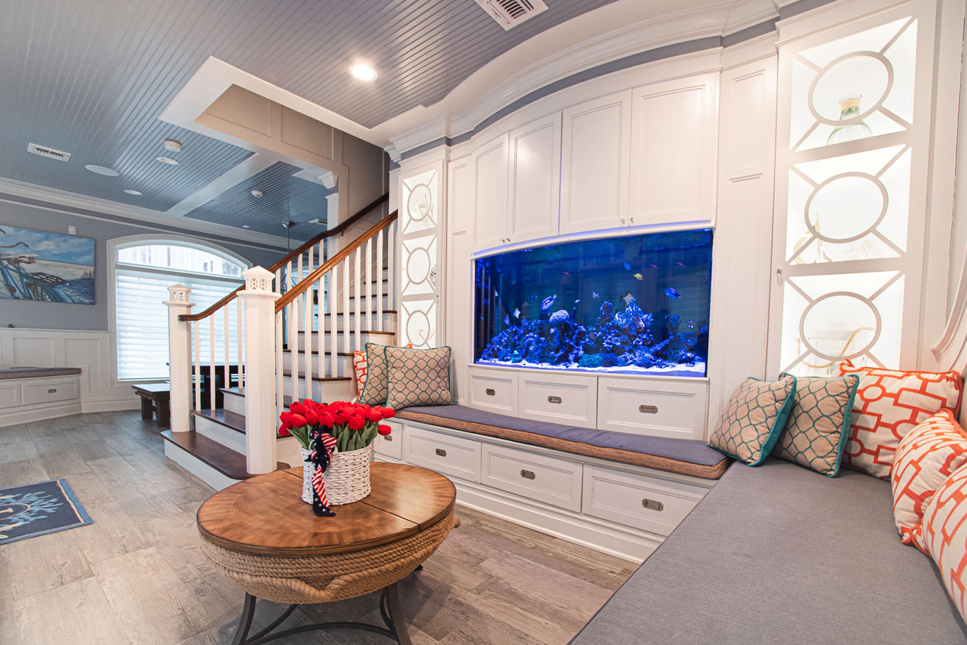 Shower Fish Tank, Manasquan New Jersey